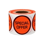 "1.5"" Round Special Offer Stickers Labels"