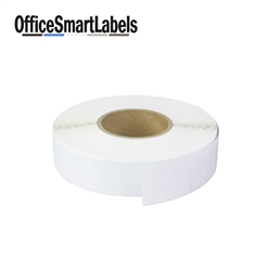 "1-1/2"" x 1"" Direct Thermal Labels ( Permanent Adhesive - 3 Inch Core )"