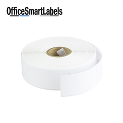 "1"" x 2"" Removable Direct Thermal Labels ( Permanent Adhesive - 1 Inch Core )"