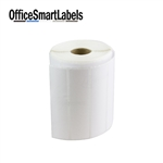 "4"" x 1"" - Removable Direct Thermal Labels ( Removable Adhesive - 1 Inch Core )"