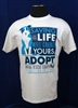 Saving a Life Will Change Yours w/Dog Unisex T-Shirt