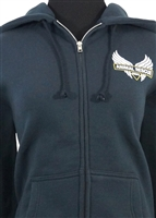 Women's Hoodie Dark Blue - 4X-Large