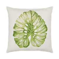 Elaine Smith Leaf 22 x 22 Outdoor Pillow