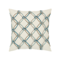 Elaine Smith Rope 20 x 20 Outdoor Pillow