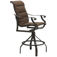 Tropitone Montreux Padded Sling Bar Stool