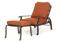 Florence Adjustable Chair and Ottoman