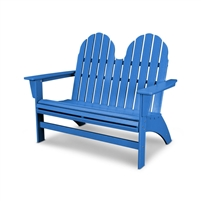 POLYWOOD Vineyard Adirondack 48 Bench