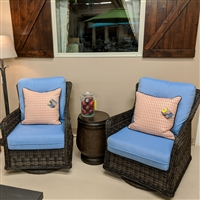 Patio Renaissance Greenville Swivel Chairs