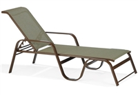 Winston In Stock SeaGrove II Adjustable Stackable Sling Chaise