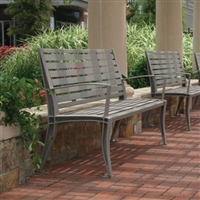 Metal Outdoor Commercial Benches