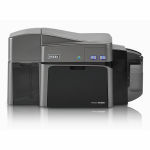 Fargo DTC1250e Dual-Sided Color ID Card Printer with MSE Graphic