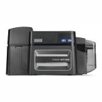 Fargo DTC1500 Single-Sided Color ID Card Printer with Cardman 5121 Smart Card Encoder Graphic