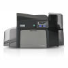 Fargo DTC4250e Dual-Sided Color ID Card Printer with MSE and Smart Card Encoder Graphic