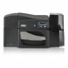 Fargo DTC4500e Dual-Sided Color ID Card Printer with MSE and Smart Card Encoder Graphic
