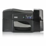 Fargo DTC4500e Dual-Sided Color ID Card Printer with MSE Graphic