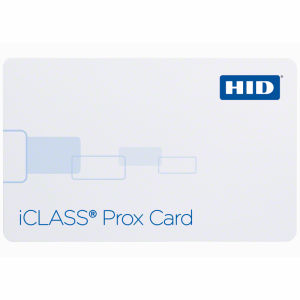 HID 212x iCLASS + Prox SmartCards Graphic