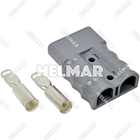 AM6325G1<br>CONNECTOR W/CONTACTS (SB175 1/0 GREY)