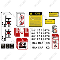 DECAL-KIT-FRENCH<br>UNIVERSAL DECAL KIT (FRENCH)