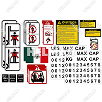 DECAL-KIT-SPANISH<br>UNIVERSAL DECAL KIT (SPANISH)