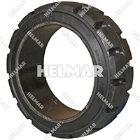 TIRE-110C<br>CUSHION TIRE (16X5X10.5 B/R)