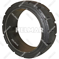 TIRE-390C<br>CUSHION TIRE (22X9X16 B/R)