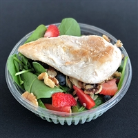 #18 Seasonal Berry Salad with Grilled Chicken