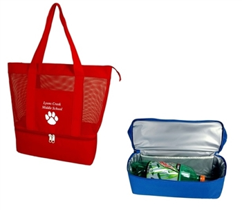 B1006 - The Cooler With A Mesh Tote