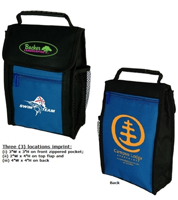 B1046 - Hook and Loops Closure Lunch Sack