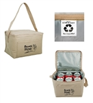 B1064 - The Non-Woven 6-Pack Insulated Cooler