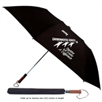 "B1307 - The Large 58"" 2 Fold Auto Open Umbrella"