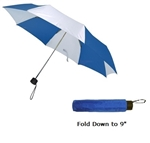 "B1309 - The 43"" Manual Folding Umbrella"