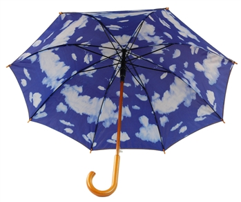 "B1335 - The 48"" Sky Double Layered Umbrella"