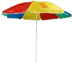 "B1339 - The 72"" Economy Beach Umbrella"
