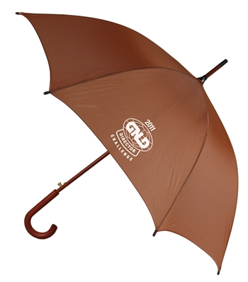"B1346 - The 48"" Auto Open Umbrella with Hook Handle"