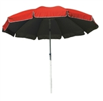 "B1347 - The 100"" Large Ten Panel Patio/Beach Umbrella with Fiberglass Frame"