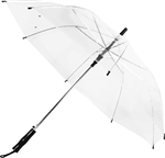 "B1350 - The 46"" Auto Open Basic Clear Umbrella"