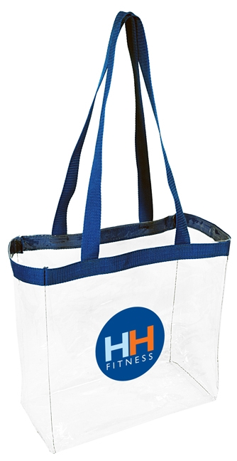 "B3004 - The 12""x12""x6"" Clear Open Tote Bag"