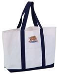 B3029 - Polyester Boat Tote Bag