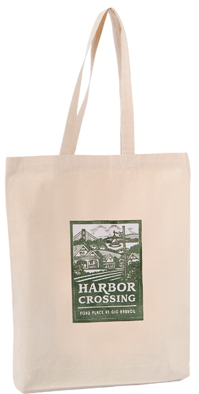 B3044 - The 12oz Natrual Cotton Tote Bag