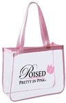 B3047 - The Fashion Clear Tote Bag