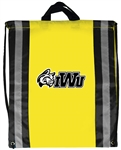 B3065 - Reflecting Stripes Drawstring Backpack