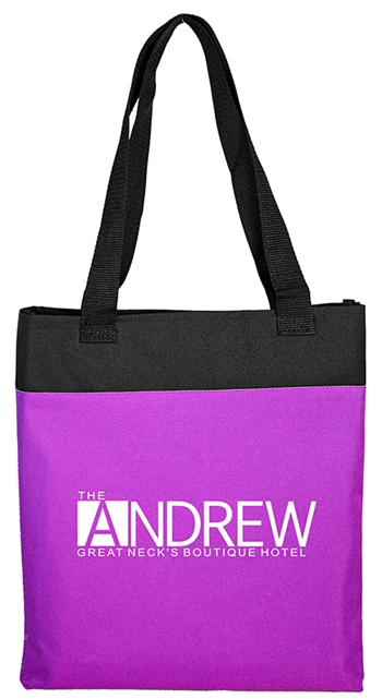 B3068 - The Tradeshow Two-tone Tote Bag