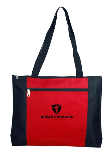 B3081-Zippered Tote