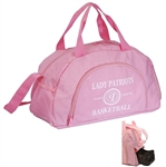 "B4020 - The 19"" Big Pink Duffel Bag"