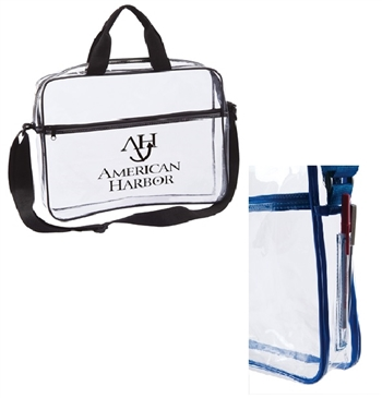 B6003 - The Clear Portfolio Bag