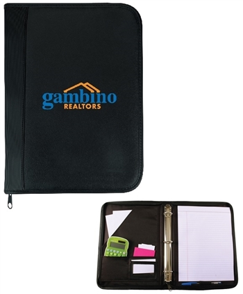 B6010 - The Executive Zippered 3 Ring Binder