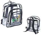 B7004 - The Large Clear Backpack
