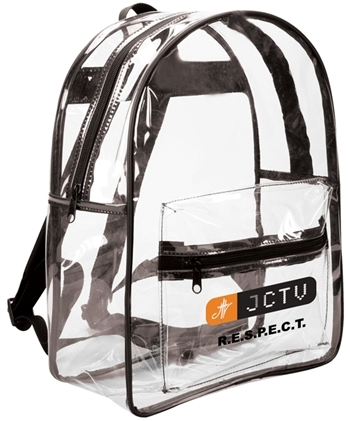 B7012 - The Basic Clear Backpack