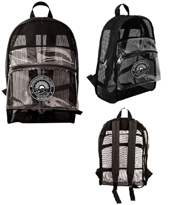 B7014 - The All See Through Mesh Backpack