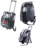 B7025 - The Clear Wheeled Backpack